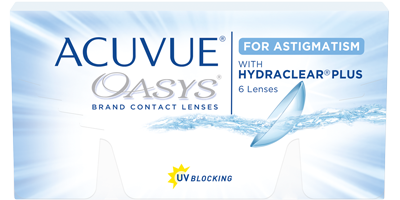 ACUVUE OASYS® for ASTIGMATISM produktbild